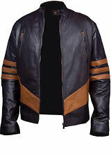 X-Men Wolverine Logans XO Real / Synthetic Leather Jacket