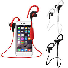 Auriculares Bluetooth Ear Hook Wireless Sport Stereo Waterproof Headset Earphone