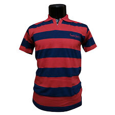 Mens Wear Collar TShirt, Semi-Formal Striped 100%Cotton T-Shirt For Mens/Gents