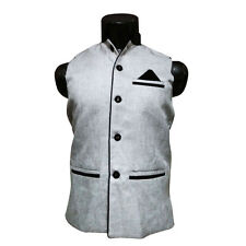 Nehru Jacket, Party Wear, Sleeveless (Size- M-chest-38 ) ( SKU - JN91499 )