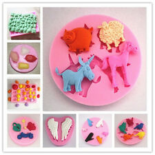 DIY Silicone Cake Mold Chocolate Candy Biscuit Mould Baking Tool Soap Mold