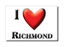 SOUVENIR USA - MASSACHUSETTS FRIDGE MAGNET I LOVE RICHMOND (BERKSHIRE COUNTY)