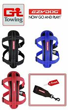 EzyDog Reflective Harness Chest Plate Collar (Colours/Sizes)