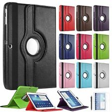 360° Leather Rotating Stand Case Cover For Samsung Galaxy Tab 4 10.1 T535 T530