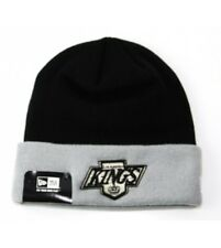 Beanie NEW ERA Los Angeles Kings Schwarz Grau Contrast Cuff Beanie