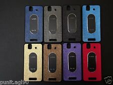Dual Tone Soft Rubber Back Cover Case Metal Plate For Lava Iris X1