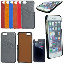 Genuine imobile PU Leather Back Case Cover With Card Slot For iPhone 6S,6S Plus