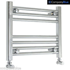 500mm Wide 400mm High Designer Chrome Heated Towel Rail Radiator Bathroom Rad