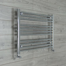 800mm Wide 600mm High Straight Chrome Heated Towel Rail Radiator Bathroom Rad