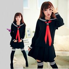 [wamami]New Adult Girl Cosplay Japanese Sailor School Uniform Costume Clothing