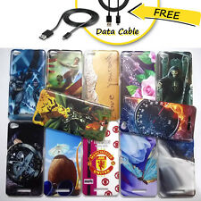 Micromax Canvas Hue2 A316 Case,Stylish Hard Back Case for A316 + Free Data Cable