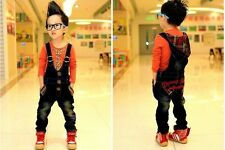 Denim Dungarees Jeans Girl Boys Quality Design Outfit BNWT