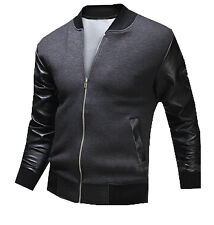 Modo Vivendi | Men Fashion Leather Jacket with Patchwork