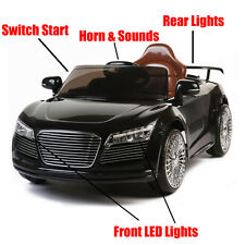 Audi R8 Style Kids Ride on 12v Battery Powered Childrens Toy Car Remote Control