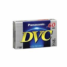 Panasonic DVM 60 Mini DV Camcorder Tapes SP60 - LP90 1 2 3 5 10 20 30 50 100