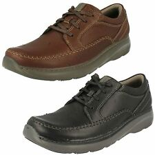 Mens Clarks Charton Vibe Casual & Lightweight Leather Lace Up Shoes