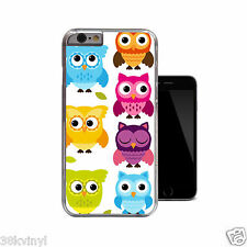 OWLS Fun Hipster Cute Funky Owl Case For iPhone 4 4s 5 5s 5c 6