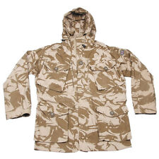 Genuine British Army Windproof Desert DPM Camo SAS Smock Coat Combat Jacket