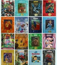 Disney Fairy Tales Magical Story Books Lenticular Bed time stories Gift New!! 3D