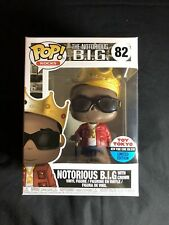 Funko POP Music Notorious B.I.G. with Crown #82 Toy Tokyo Exclusive Mint NYCC