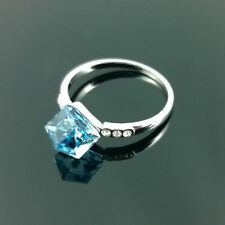 New Crystal Ring With Swarovski Crystal Elements Engagement Gift Boxed