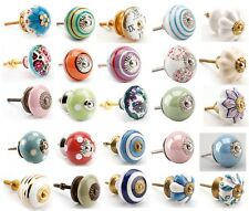Vintage Ceramic Drawer Knob Pull Handles Door Cupboard Cabinet Knobs sale