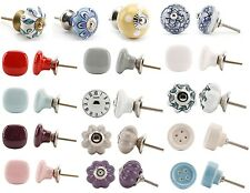Vintage Chic Ceramic Drawer Knob Cupboard Cabinet Knobs Pull Handles Door