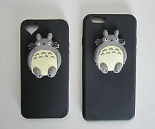 3D Totoro Studio Ghibli Anime Silicone Mobile iPhone Phone Cover Case Protector