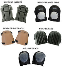 Silverline Knee Pad Inserts , Hard Cap , Leather , PU , Gel Knee Pads