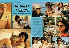 Coupure de Presse Clipping 1978 (4 pages) Film The Greek Tycoon Anthony Quinn