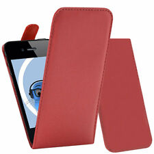 PU Leather Executive Organiser Vertical Flip Case Cover For Apple iPhone 4 4S