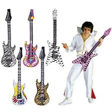 Hinchable ROCKEROS ROCK Guitarra Inflable AÑOS 80 ELTON SLASH FUNKY PUNKY DISCO