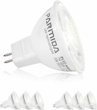 12 X 7W 12V MR16 LED Light Bulb COB Dimmable UL/ES AC/DC 50 Watt Equivalent