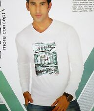 Mens T-Shirt,Full Sleeves TShirt , Cotton Fabric V-Neck tshirt , Mens Wear