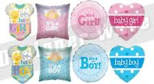 New Baby Celebration Balloon Shower Party Girl Boy Pink Blue Cute Its A Birth