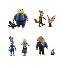 Disney's Zootropolis Twin Character Pack - Judy Hopps Nick Wilde Clawhauser NEW