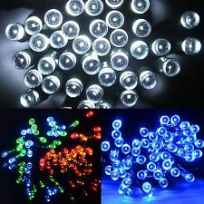 BATTERY OPERATED CHASING LED LIGHTS STRING WITH TIMER INDOOR / OUTDOOR CHRISTMAS