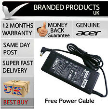 Genuine Original Acer Aspire Laptop Power Supply Cable Adapter Charger UK Plug