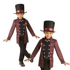 Rubies Official Childs Willy Wonka World Book Day Fancy Dress Hat Costume Outfit
