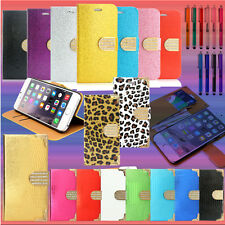 For iphone 6 / 6S Wallet Case 4.7 / Plus 5.5 Luxury Leather Stand Card Cove