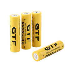 18650 9800mAh 3.7V Rechargeable Li-ion Pile Accus Pour Flashlight FR