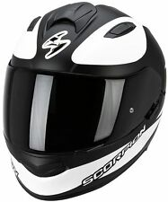 CASQUE INTEGRAL SCORPION EXO-510 AIR SUBLIM NOIR MAT/BLANC
