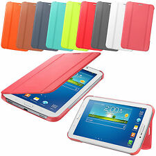 Smart Leather Book Folding Stand Case Cover For Samsung Galaxy Tab 4 7 8 10.1