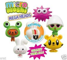 Micro Moshi Monsters Mega Head Figure and secret Moshling - select the head