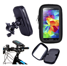 Waterproof Bicycle Rotating Bike Mount Holder Case Cover for Nokia and LG Black