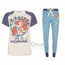 PRIMARK Ladies DISNEY ARIEL the Little Mermaid Pyjama Leggings T-Shirt or PJ Set