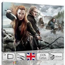 LORD OF THE RINGS THE HOBBIT LEGOLAS AND TAURIEL CANVAS WALL ART PRINTS PICTURES