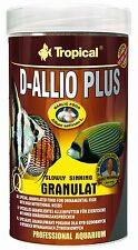 Tropical D-allio Plus Gran Granulated food with garlic for discus and other fish