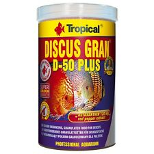 Tropical DISCUS GRAN D-50 PLUS  Colour-enhancing sinking granules for discus