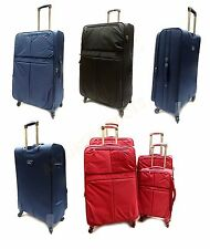 Lightweight 4 Wheel Suitcase Spinner Luggage Case Trolley Cabin Bag Travel